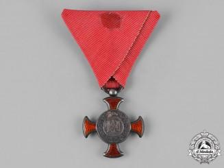 Austria, Empire. A Merit Cross 1849, IV Class, c.1870