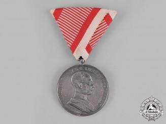 Austria, Empire. A Bravery Medal, I Class Silver Grade, Franz Joseph I, c,1914