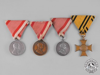 Austria, Empire. Four Awards & Decorations