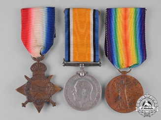 United Kingdom. Three First War Medals