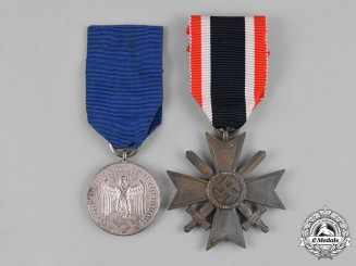 Germany, Third Reich. A Pair of Third Reich Era Awards