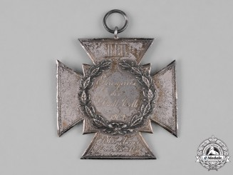 Germany, Imperial. A 1902 Celle Silver Marksmanship Badge, by C. Bade