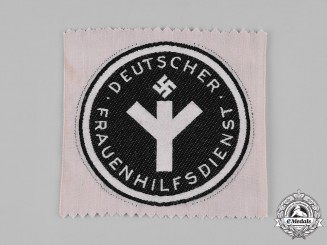 Germany, NS-Frauenschaft. A Women's Auxiliary Service Sports Shirt Badge