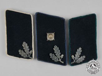 Germany, Der Stahlhelm. A Group of Stahlhelm Collar Tabs by Der Stahlhof Magdeburg