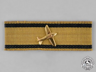 Germany, Republic. A 1957 Issue Low Flying Aircraft Destruction Badge, Gold Grade