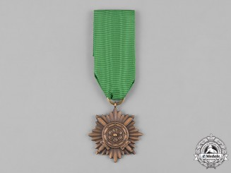 Germany, Wehrmacht. An Eastern People's Bravery Decoration, II Class, Gold Grade