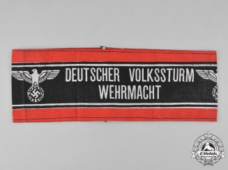 Germany, Third Reich. A Volkssturm Personnel Armband