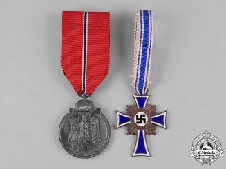 Germany, Third Reich. A Pair of Third Reich Period Medals