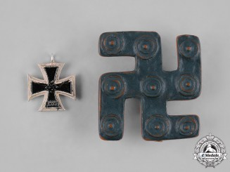 Germany, Third Reich. A Pair of Third Reich Badges