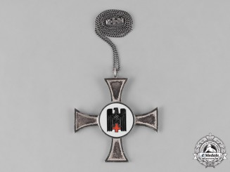Germany, DRK. A German Red Cross (DRK) Sister's Badge for 10 Years of Service