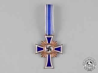 Germany, Third Reich. An Honour Cross of the German Mother, Bronze Grade