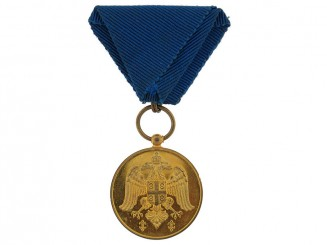 Medal for Zeal, Gold Grade, 1913