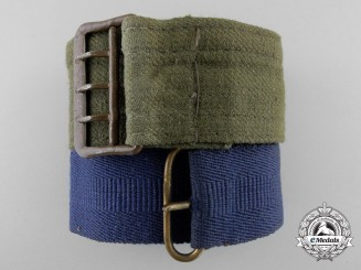 Two Open Claw Second War German Belts with Buckles