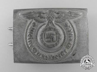A Waffen-SS EM/NCO'S Buckle by Josef Felix & Sohne