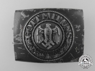 Germany, Kriegsmarine. An Enlisted Man's Belt Buckle, by Noelle & Heuck 1942