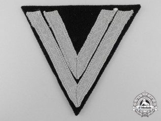 Germany. A Panzer Obergefreiter Rank Chevron