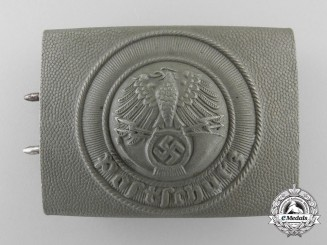 A German National Postal Service (Deutsche Reichspost) Enlisted Man's Belt Buckle