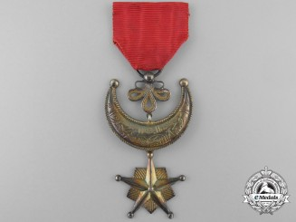 A Rare Pre-1896 Comoro Islands Order of the Star of Comoro; Knight's Breast Badge