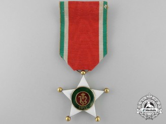 An Italian Order of Colonial Merit; Knight's Breast Badge