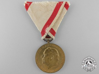 An 1860-1910 Montenegrin Nicholas I Golden Jubilee Medal