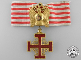An Order of Merit of the Holy Sepulchre of the Vatican; Commander's Neck Badge