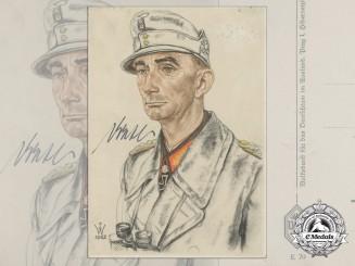 A Generaloberst Eduard Dietl Postcard