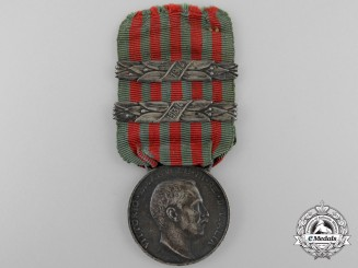 An Italian Libyan Campaign Medal 1913-1914