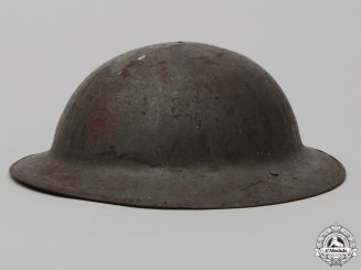 A First War Mark II Canadian Engineers Helmet