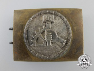 An NSBO (National-Socialistiche Betreibs Organisation) Belt Buckle