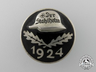 A 1924 Stahlhelm Membership Badge