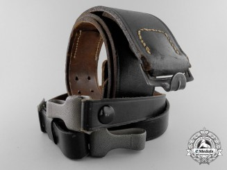 A German Belt and Should Strap Set