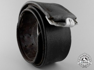 A 1939 Luftwaffe Belt by MAX KOBERST LANDSBERG