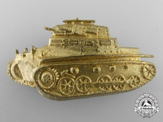An Unknown Tank Badge c.1930