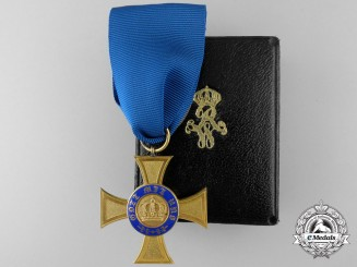 A Prussian Order of the Crown 1867-1918; 4th Class