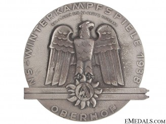 SA Ski Medal 1938