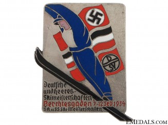 SA/SS Ski Competition Badge