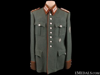 Schutzpolizei Revier-Hauptmann Dress Tunic