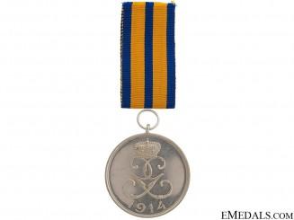 Schwarzburg-Rudolstadt War Medal 1914