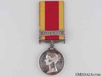 Second China War Medal - Pekin 1860