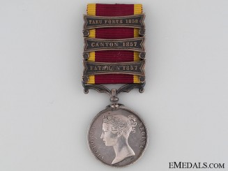 Second China War Medal 1857-1860