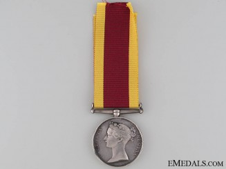 Second China War Medal 1861