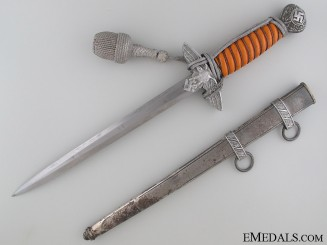 Second Model Luftwaffe Dagger By F.W. H¡_ller