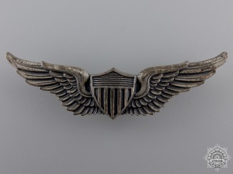 United States. An Army Air Force Aviator Wings Badge, by Vanguard, c.1945