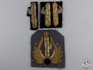 Second War Italian Facist Bullion Insignia