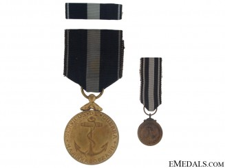 Second War Navy War Services Medal