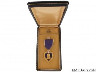 Second War Purple Heart - Cased