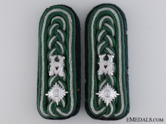 Senior Officer of Army Construction Administration Shoulder Boards