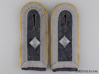 Set of Flight Feldwebel Shoulder Boards