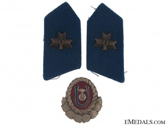 Set of Ustasha Insignia