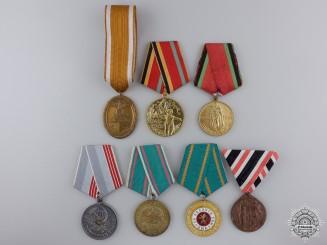Seven European Medals & Awards